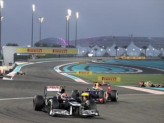 В 2013 году на гонках Формулы-1 будут две обгонные зоны