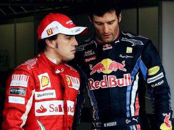 """В команде Red Bull назвали Алонсо """"нытиком высокого уровня"""""""