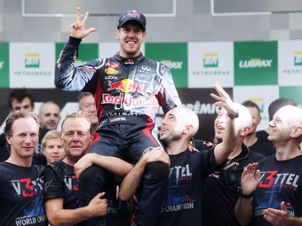 Феттель назвал Гран-при Бразилии своей самой сложной гонкой