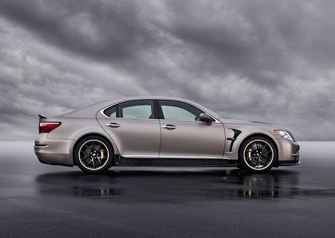 """Lexus LS с 650-сильным мотором разгоняется до """"сотни"""" за 3,9 секунды. Фото 1"""