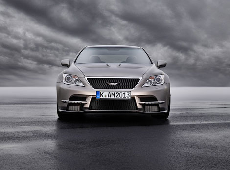 """Lexus LS с 650-сильным мотором разгоняется до """"сотни"""" за 3,9 секунды. Фото 2"""
