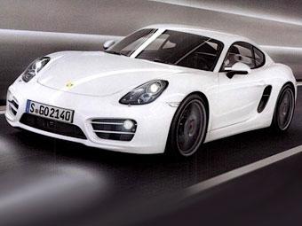 Новый Porsche Cayman впервые показали на обложке журнала