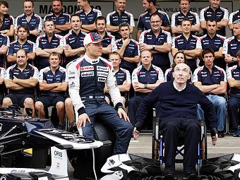 Команда Williams объявила состав пилотов на 2013 год