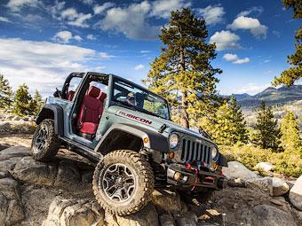 """Jeep показал """"самый внедорожный"""" Wrangler"""