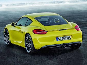 Появились официальные фотографии нового Porsche Cayman