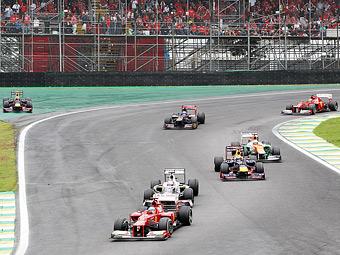 Алонсо заставит Ferrari опротестовать результаты Гран-при Бразилии