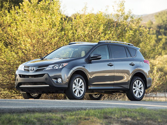 Toyota RAV4 подросла на 20 сантиметров в длину