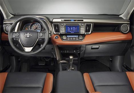 Компания Toyota представила на автосалоне в Лос-Анджелесе кроссовер RAV4 нового, четвертого поколения