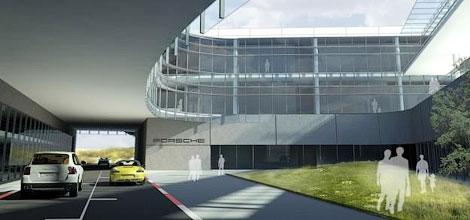 Трасса является частью проекта штаб-квартиры нового офиса Porsche