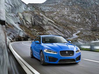 Jaguar XFR-S доберется до России в мае