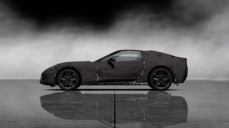 Суперкар в закамуфлированно виде появился в игре Gran Turismo 5. Фото 1