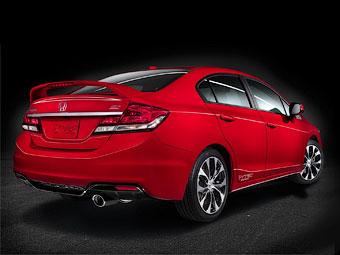 """""""Хонда"""" изменила интерьер Civic"""