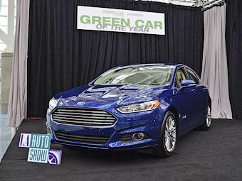 """В США выбрали """"зеленый"""" автомобиль года"""