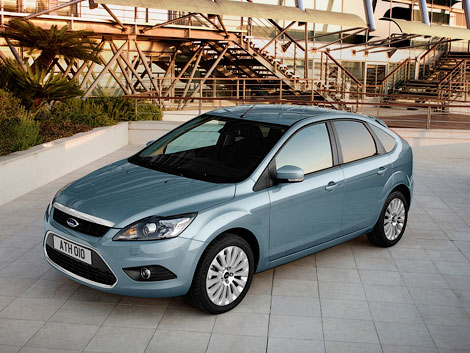 Ford Focus возглавил рейтинг популярности среди иномарок