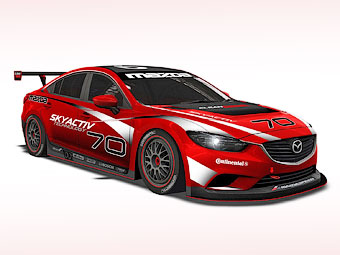 Дизельную Mazda6 подготовят для гонок на выносливоcть