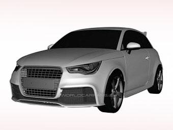 """Появились изображения """"заряженного"""" Audi A1"""