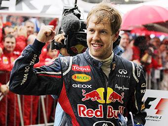 Себастьян Феттель стал лучшим гонщиком года