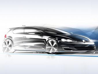 """VW передумал клонировать дизайн седьмого """"Гольфа"""""""