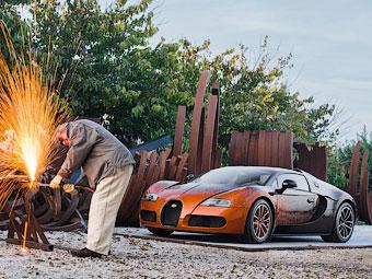 "Компания Bugatti построила ""математический"" Veyron"