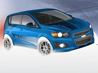 Компания Chevrolet подготовила хэтчбек Aveo для гонок