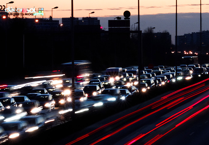 В каких странах мира дорожные пробки длиннее московских. Фото 1