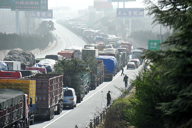 В каких странах мира дорожные пробки длиннее московских. Фото 3