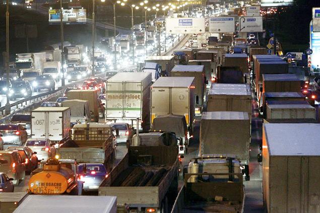 В каких странах мира дорожные пробки длиннее московских. Фото 11