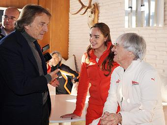 Экклстоун ответил на критику президента Ferrari