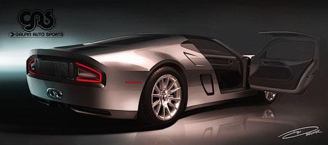 Ателье Galpin Auto Sports привезет на Конкурс элегантности 1024-сильное спорткупе