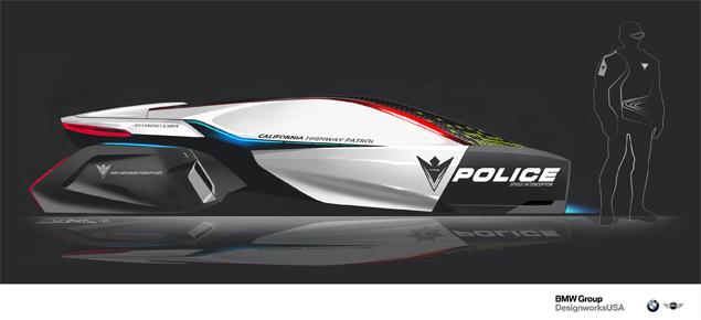 В Лос-Анджелесе показали полицейские автомобили будущего. Фото 1