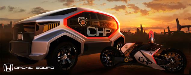 В Лос-Анджелесе показали полицейские автомобили будущего. Фото 3