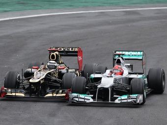 Пилоты Формулы-1 поставили рекорд по обгонам на последней гонке сезона