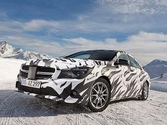 Mercedes-Benz показал новую модель в камуфляже