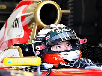 Китайский гонщик Формулы-1 провел переговоры с Marussia и Caterham
