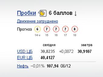 """""""Яндекс"""" стал предсказывать пробки на пять часов вперед"""
