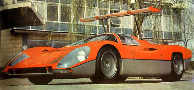 Десять самых ярких концепт-каров Bertone