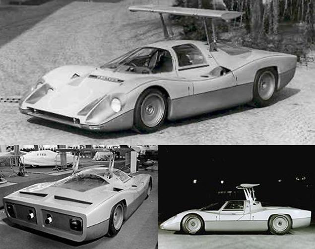 Десять самых ярких концепт-каров Bertone. Фото 1