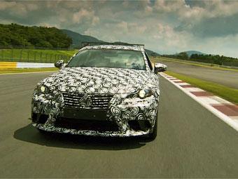 Новый Lexus IS с V6 станет мощнее на 100 сил