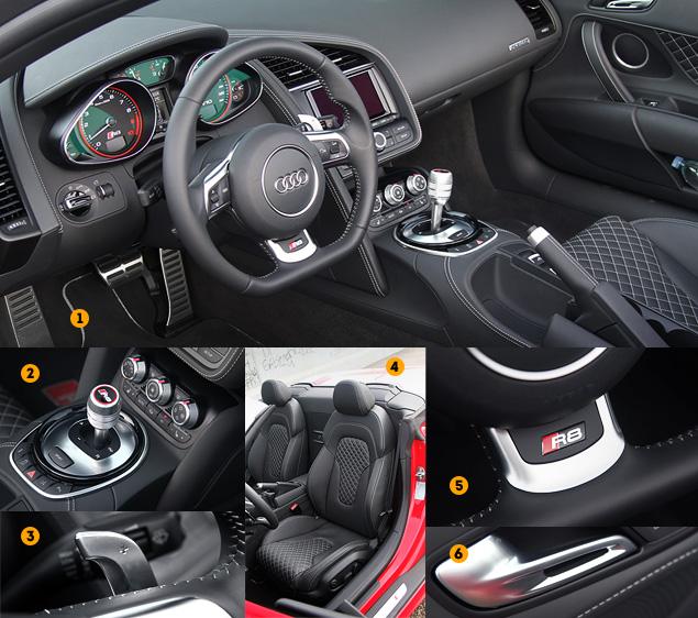 Тест-драйв обновленного суперкара Audi R8. Фото 4