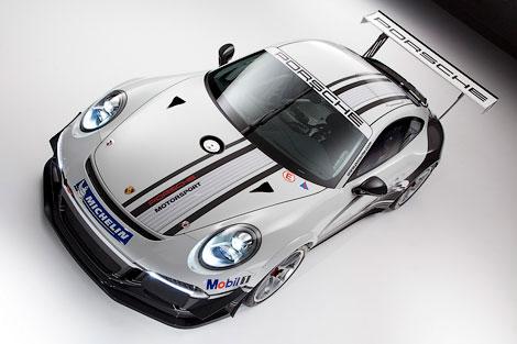 Производитель построил спорткар для соревнований Porsche Mobil 1 Supercup. Фото 2