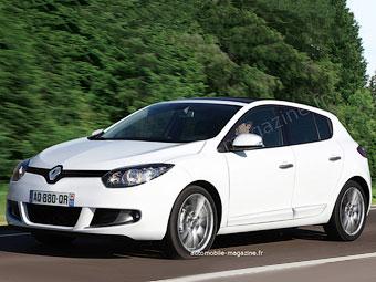 Renault обновит Megane через год