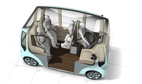 Компания Rinspeed представила концепт-кар microMAX