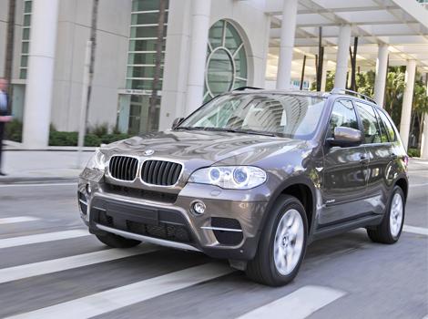 BMW отзовет в России 4 тысячи кроссоверов X5 и X6
