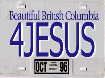 В Канаде запретили провокационные номерные знаки
