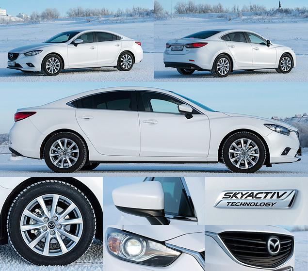 Первый тест-драйв нового седана Mazda6