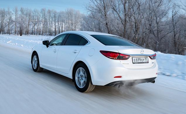 Первый тест-драйв нового седана Mazda6. Фото 2