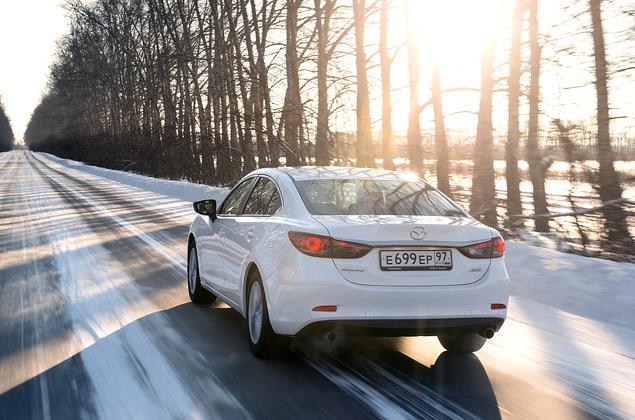 Первый тест-драйв нового седана Mazda6. Фото 5