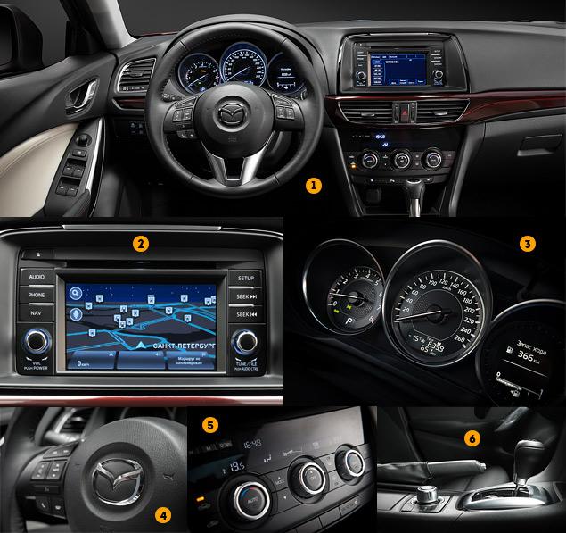 Первый тест-драйв нового седана Mazda6. Фото 6