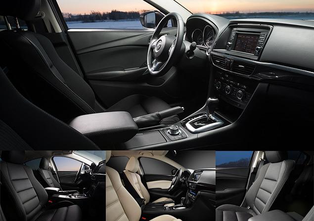 Первый тест-драйв нового седана Mazda6. Фото 7