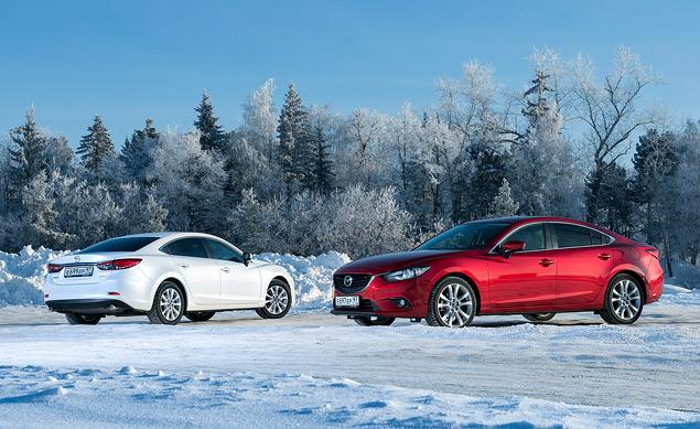 Первый тест-драйв нового седана Mazda6. Фото 8